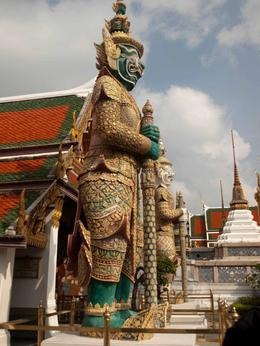 One of the many statues in the Grand Palace complex , Jill - November 2011