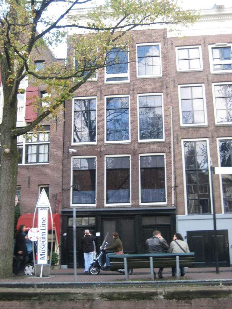 House where Anne Frank hid - Brussels