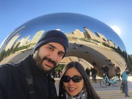 In front of the bean , Lorenext - January 2016