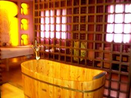 This was one of the baths inside the spa resort - May 2012