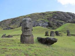Moai of Easter Island , alison46 - March 2014