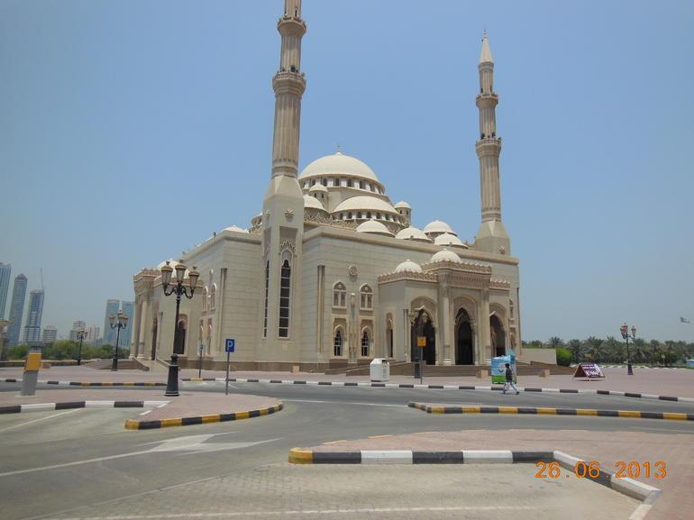 Mosque in Sharajah - Dubai