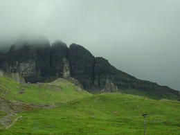 The old Man of Storr, Isle of Skye. Day 2 of our trip , Liv F - September 2014