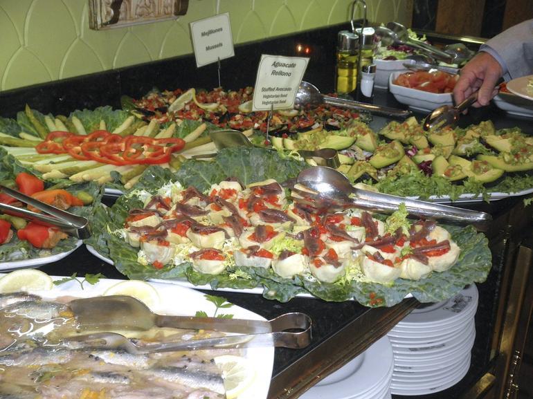 Salad Buffet - Barcelona