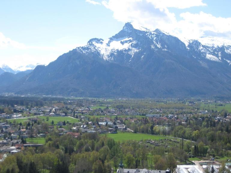 Salzburg from above - Vienna