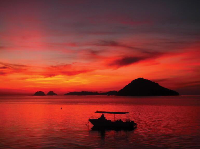 Sunset - Malaysia