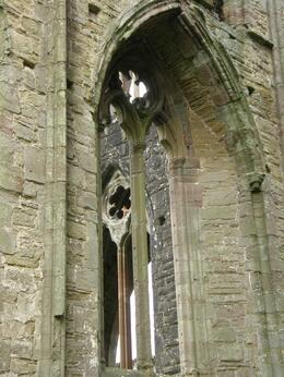 The architecture of this old abbey was amazing. , Tighthead Prop - December 2010