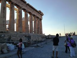 Thanasis tells us about the current state of the Parthenon - September 2013