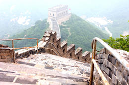 View from the Great Wall. - August 2013