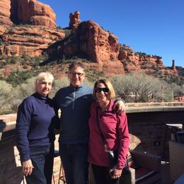 My cousins and myself in Sedona , BarbaraArk - February 2017