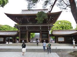 Meiji Shrine Entrance , nhagg - June 2017