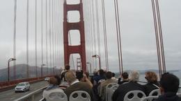 crossing Golden Gate , Geny C - September 2017