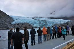 Portage Glacier from boat tour , Thomas V - October 2017
