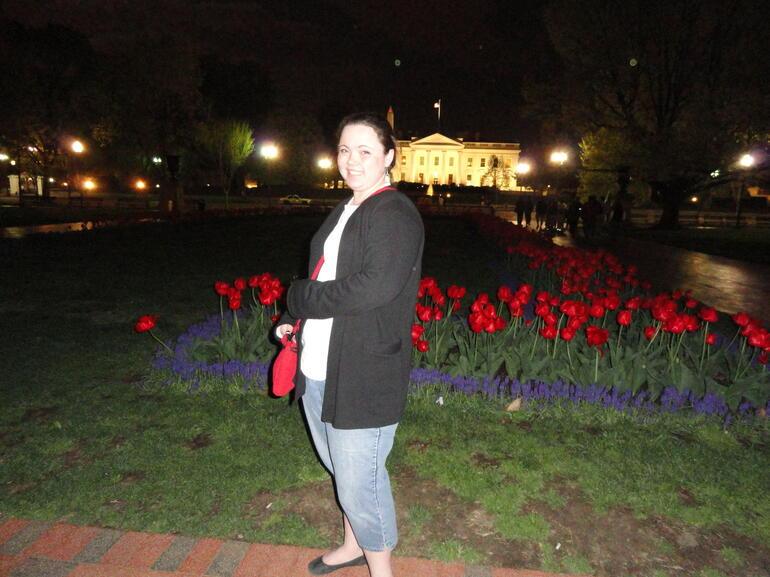 back of the Whitehouse - Washington DC