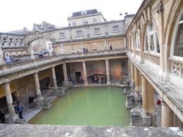 view of the Roman Bath , STEFANIE S - March 2011