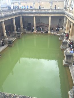 The roman bath from above , rmmc07 - August 2016