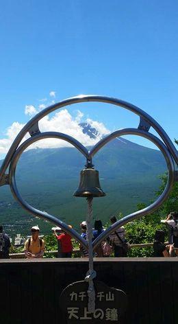 Bell at Lake Kawaguchiko , Nicole J - August 2015