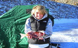 Blue Mesa is one of the top Kokanee salmon fisheries in the west! , Icefishcolorado - November 2012