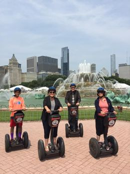 Buckingham fountain fun stop! , Hiam C - July 2015