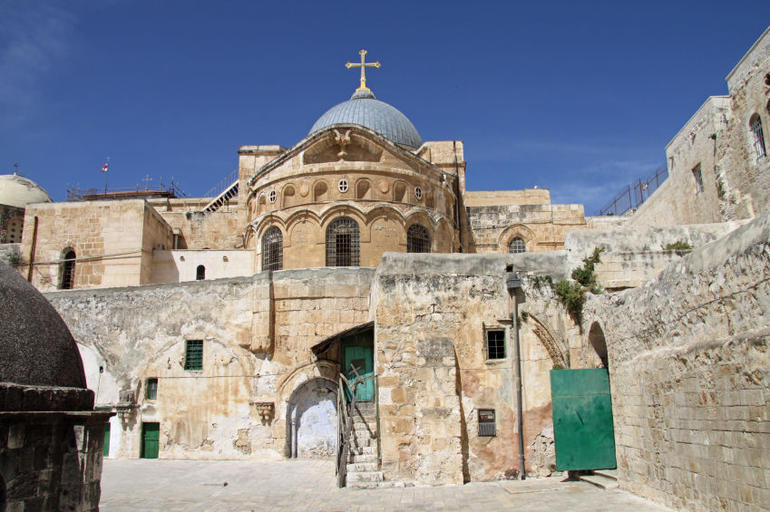 Church of the Holy Sepulchre, Via Dolorosa, Jerusalem - Jerusalem