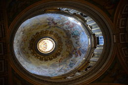 This is one of the lesser domes inside the Basilica. , EhViator - September 2015