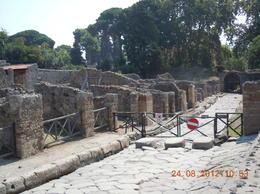 The streets of Pompeii , Sarah J - September 2012