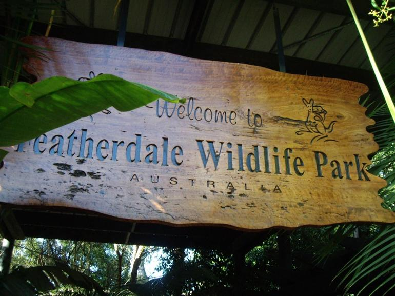 Entrance to Featherdale Wildlife Park - Sydney