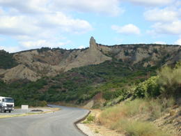 Frontal view of the Nek , Samo T - October 2011