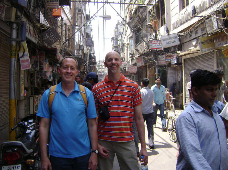 Ken - Stephen Crowded Delhi Lane - New Delhi