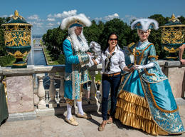Peter the Great Courtiers and my wife Star... , Mark B - July 2014