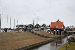 Fishing boats and wooden houses., Nay L - March 2010