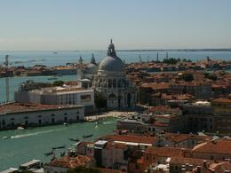 view from the top of the tower in St Marks square, KAREN D - September 2010