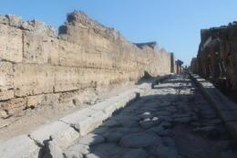 One of Pompeii roads , Lauren C - October 2014