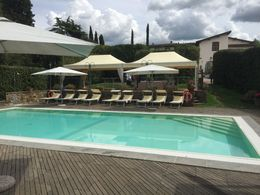 Loved lunch at this pool! The view beyond the pool overlooking the Tuscan countryside is unbelievable... , Stephanie C - June 2015