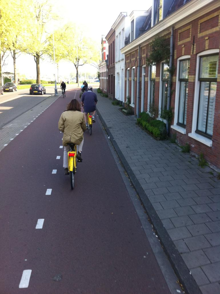 Riding through the Dutch Villages - Amsterdam