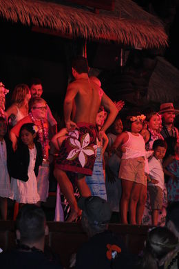 The crowd enjoying the performance, Erik - October 2015