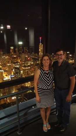 We were enjoying the view before the memorable marriage proposal. , Bill M - August 2015