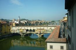 View from Uffizi over Ponte Vecchio - September 2009