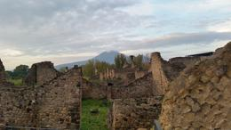 Pompeii with Mt. Vesuvius in the background. , iwolf2 - December 2016