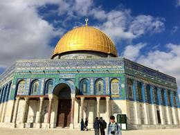 The Dome of the Rock on Temple Mount , Lori M - January 2017