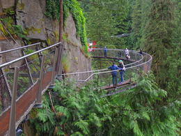 The cliff walk at the Capilano Suspension Bridge. , Kevin F - September 2017