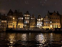 Amsterdam at night , Kelsey H - January 2018