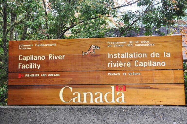 Capilano salmon facility - Vancouver