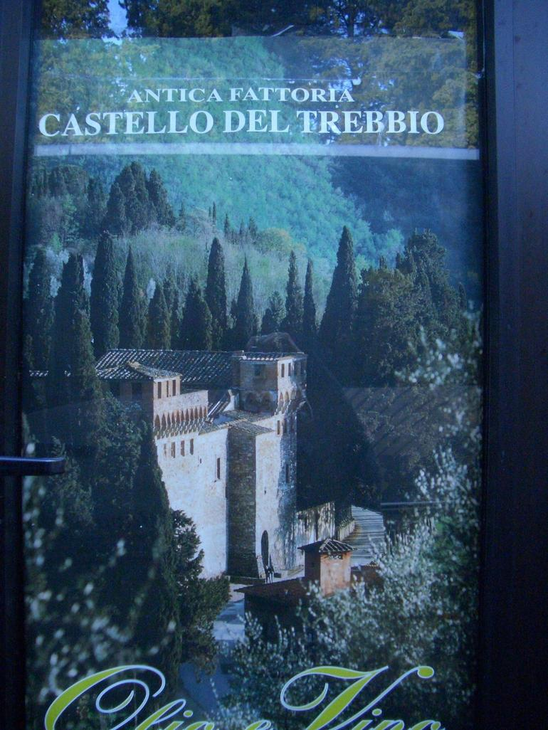 Castle poster - Florence