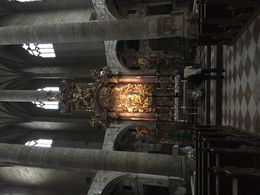 Hmmm... it looks like the photo may end up on its side even though my file shows it upright. Sorry if so. Salzburg has several very old cathedrals, chapels, churches, some of them in less visible..., Michael E - June 2016