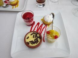 Dessert Sampler plate for early dinner cruise , ROXANNE G - August 2015