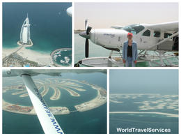 Flight over Burj Al Arab, Palm Jumeirah and The World Islands , Petru Rosenthorn - May 2014