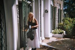 Me opening the front door of Graceland , Tracey C - November 2012