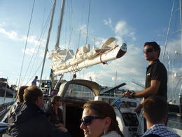nous étions un petit groupe sur le voilier , Ghislaine R - May 2014