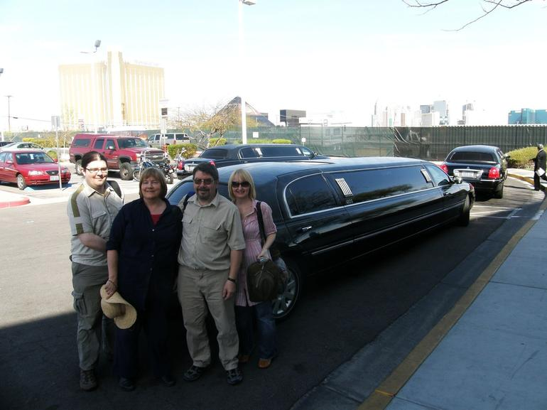Our Huge Stretch Limo - Las Vegas
